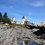Pemaquid Light Poster
