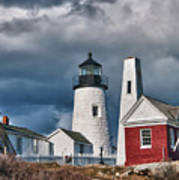 Pemaquid Point Lighthouse 4821 Poster