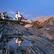 Pemaquid Point Lighthouse - D002139 Poster