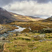 Pen Yr Ole Wen And Tryfan Mountain Poster