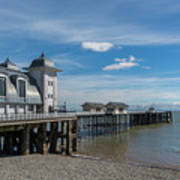 Penarth Pier Glorious Day Poster