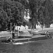 Peniche On River Seine Poster