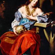 Penitent Mary Magdalene Poster