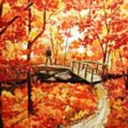 Pennsylvania Autumn Poster