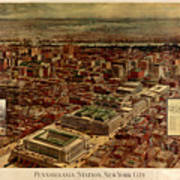 Pennsylvania Station 1910 Poster