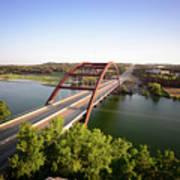 Pennybacker Bridge Poster