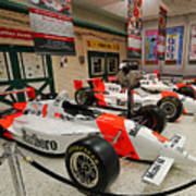 Penske Racing Indy 500 Hall Of Fame Museum Poster