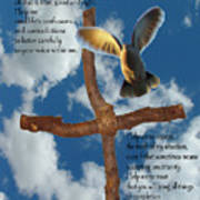 Pentecost Holy Spirit Prayer Poster