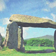 Pentre Ifan Poster
