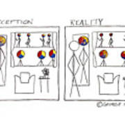 Perception And Reality Poster