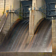 Percy Priest Dam Poster