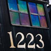 Pere Marquette Locomotive 1223 Poster