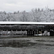 Perrine's Bridge After The Nor'easter Poster