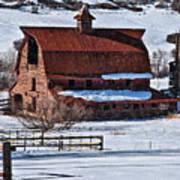 Perry Park Barn Poster