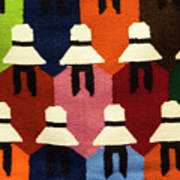 Peru Hat Tapestry Poster