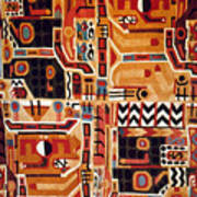 Peru: Tunic Fragment Poster