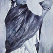 Peruvian Girl Poster