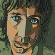 Pete Townshend - Behind Blue Eyes  Poster by Suzanne Gee