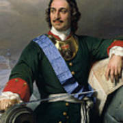 Peter I The Great Poster