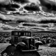Petrified Forest Car  Poster