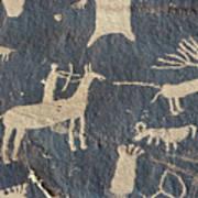 Petroglyphs, Utah Poster