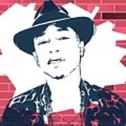Pharrell Graffiti Tribute Poster