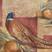 Pheasant I Poster