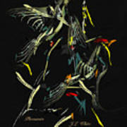 Pheasants Poster