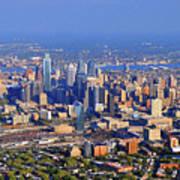 Philadelphia Aerial 0518 Poster by Duncan Pearson