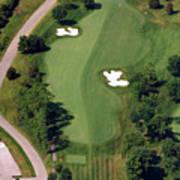 Philadelphia Cricket Club Militia Hill Golf Course 10th Hole Poster by Duncan Pearson