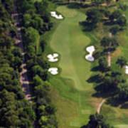 Philadelphia Cricket Club Militia Hill Golf Course 12th Hole Poster by Duncan Pearson