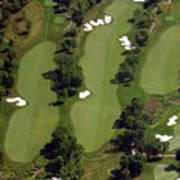 Philadelphia Cricket Club Militia Hill Golf Course 17th Hole Poster by Duncan Pearson