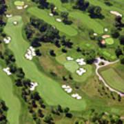 Philadelphia Cricket Club Militia Hill Golf Course 6th Hole 2 Poster by Duncan Pearson