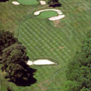 Philadelphia Cricket Club St Martins Golf Course 2nd Hole 415 W Willow Grove Ave Phila Pa 19118 Poster
