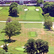 Philadelphia Cricket Club St Martins Golf Course 9th Hole 415 W Willow Grove Ave Phila Pa 19118 Poster