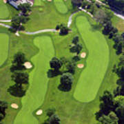 Philadelphia Cricket Club Wissahickon Golf Course 18th Hole Poster
