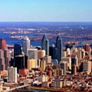 Philadelphia Skyline 2005 Poster by Duncan Pearson