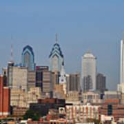 Philadelphia Standing Tall Poster