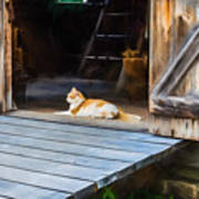 Philipsburg Manor - Gristmill Greeter Poster
