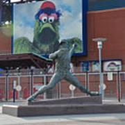 Phillies Steve Carlton Statue Poster