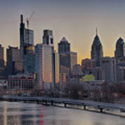 Philly Before Dawn From South Street Poster