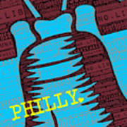 Philly Liberty Bell Poster