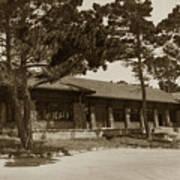 Phoebe A Hearst Social Hall Asilomar Pacific Grove Circa 1925 Poster