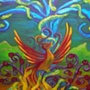Phoenix Bird Poster