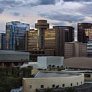 Phoenix Downtown Skyline Poster