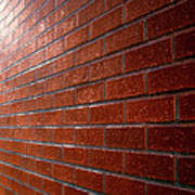 Photo Graphics - Brick Wall Eruption Poster