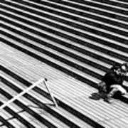 Photographer In Paris Poster