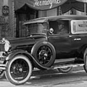 Photographer's 1928 Truck Poster