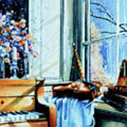 Piano In The Sun Poster
