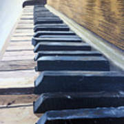 Piano Perspective Poster